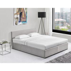 lit coffre 180 200 achat vente pas cher. Black Bedroom Furniture Sets. Home Design Ideas