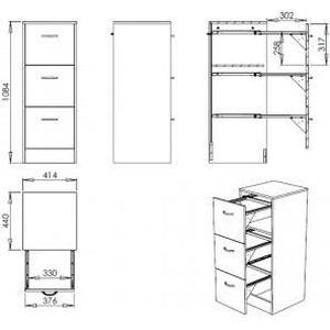 classeur 4 tiroirs pour dossiers suspendus achat vente classeur 4 tiroirs pour dossiers. Black Bedroom Furniture Sets. Home Design Ideas