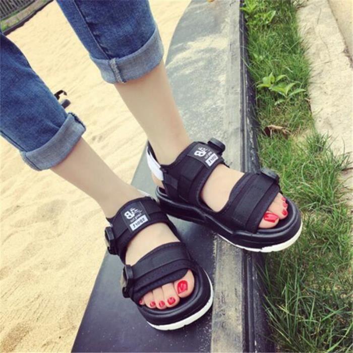 Sandale Homme Marque De Luxe de Mode 2017 Nouvelle Super Meilleure Durable Plage Classique Hommes Sandales Grande Taille 44 dCVOT6