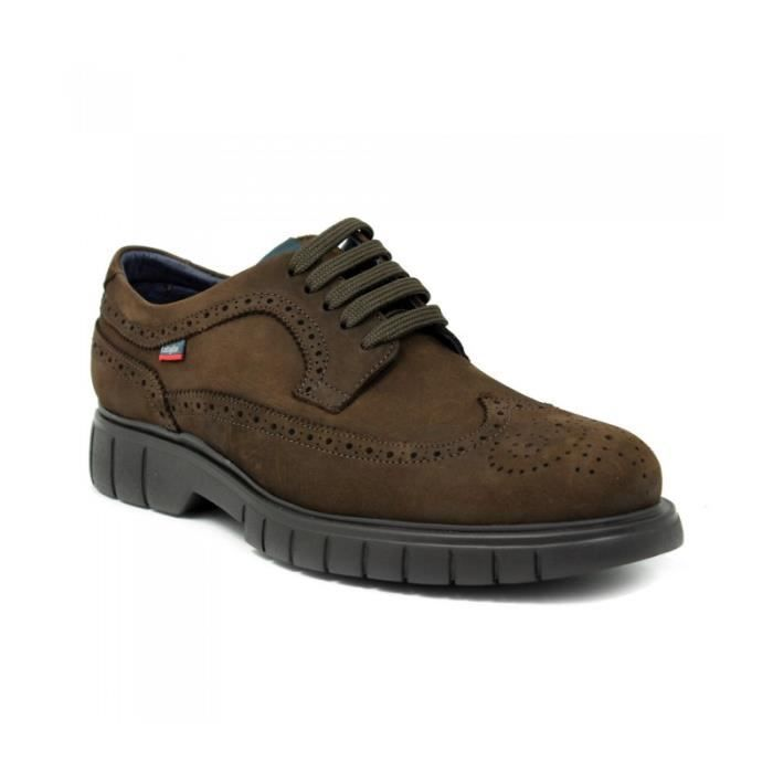 CALLAGHAN Chaussures Blucher - Lacets - Nubuck - Brun - Taille - Quarante-cinq Homme Ref. 1566_36223