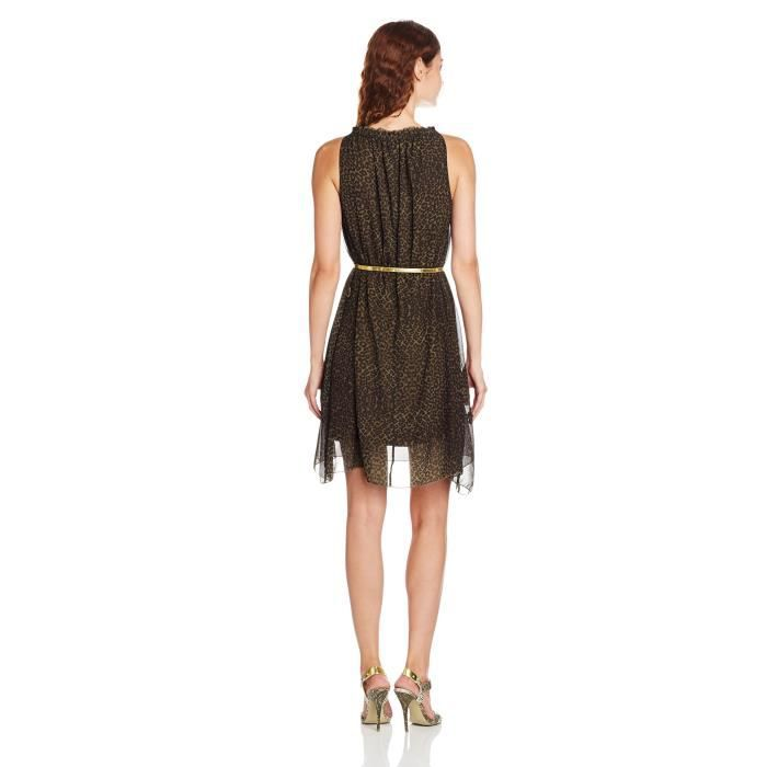 Gas Womens Crepe A-line Dress ZIA58 Taille-38