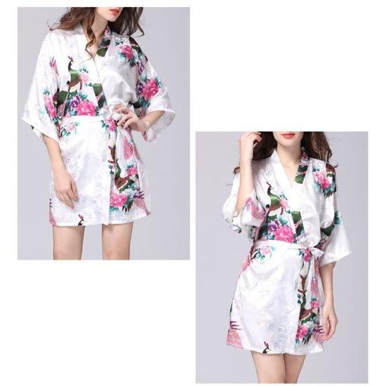 femmes-robe-de-paon-chemise-pyjamas-jupe-de-soie-u.jpg c401237c92e