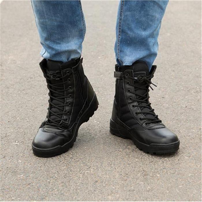 Chaussures Homme Marque de luxe 2017 Martin Bottine Haut qualité Nouvelle Mode Confortable ete Durable Bottine Hommes Grande Taille eJJxmhTgZ4
