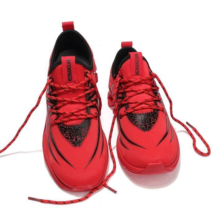Chaussure de Course pour Homme Femme Baskets Décontractés Respirants pour les Sports