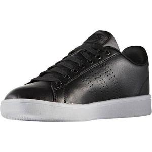 Cf Clean et ADIDAS Noir Baskets Homme Advantage Blanc q5pt7