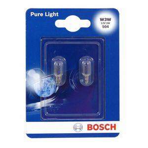 BOSCH Ampoule Pure Light 2 W3W 12V 3W