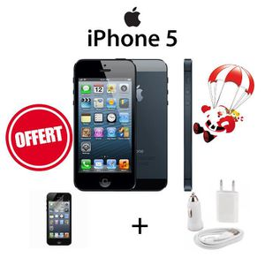 SMARTPHONE Apple iPhone 5 16Go Noir Pack Protection