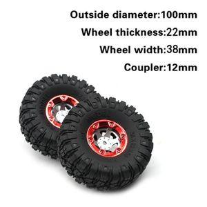 PNEUS AUTO 2PCS 1-12 RC sur route des pneus à sculptures 1-12