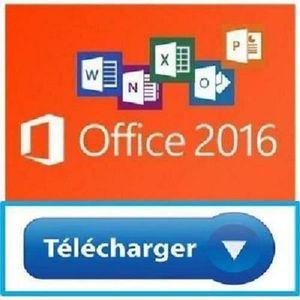 BUREAUTIQUE À TÉLÉCHARGER Microsoft Office professionnel plus 2016 version c