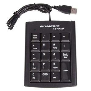 PAVÉ NUMÉRIQUE Lzionew pavé numérique USB Portable Fin Mini pavé
