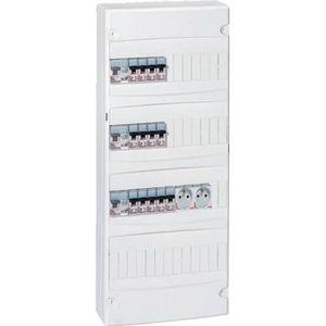 tableau electrique 4 rangees achat vente tableau electrique 4 rangees pas cher cdiscount. Black Bedroom Furniture Sets. Home Design Ideas