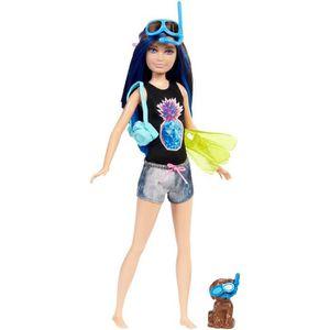 POUPÉE Mattel Poupée Barbie Fbd70 - Dolphin magique Skipp