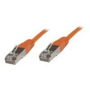 CÂBLE RÉSEAU  MICROCONNECT STP CAT6 0.5M LSZH (STP6005O)