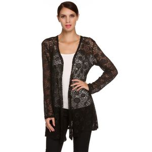 25db268244ac5 GILET - CARDIGAN Meaneor gilet femme Manches longues