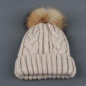 BONNET - CAGOULE LZP61108147BG® Bébé Bébé Hiver Crochet Chapeau De ... c7451bad89e