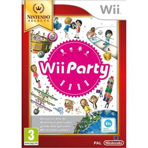 JEU WII NINTENDO WII PARTY SELECTS…