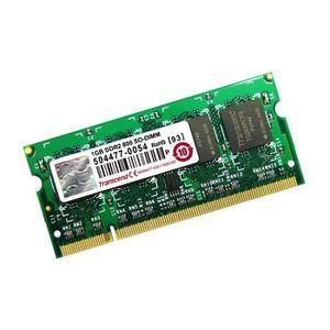 MÉMOIRE RAM 1Go RAM PC Portable SODIMM TRANSCEND JM800QSU-1G D