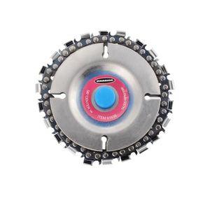 DISQUE DE DÉCOUPE 4 pouces 22 dents disque de meuleuse avec à chaîne