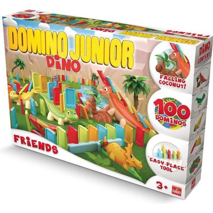 Goliath - Domino Express Junior Friends - Jeu de construction