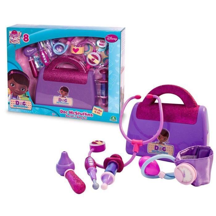 Docteur la peluche malette achat vente jeux et jouets pas chers - Docteur la peluche malette ...