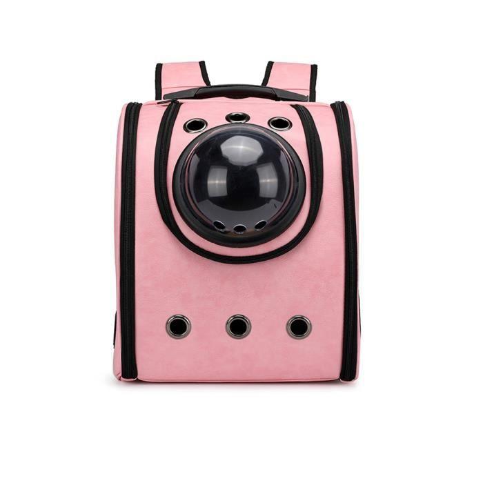Petmom® Rose01 Forfait Espace Animal Mode Portable Paquet De Chat Chien Sac À Dos Sortie