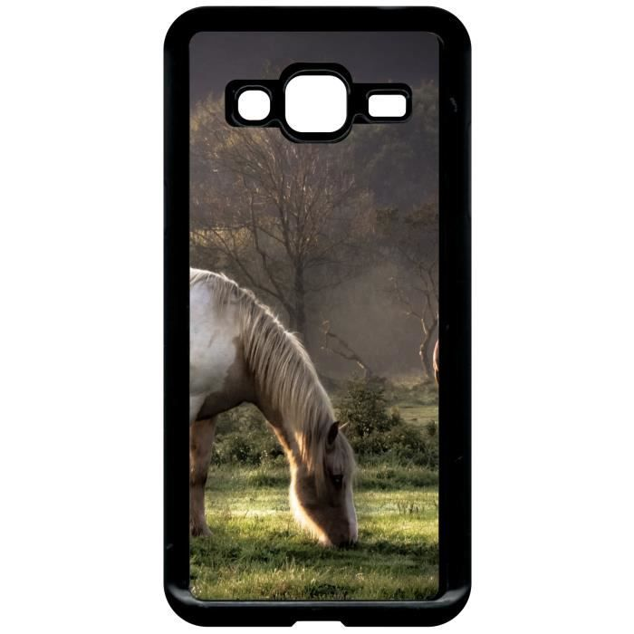 coque samsung j3 2016 animaux cheval