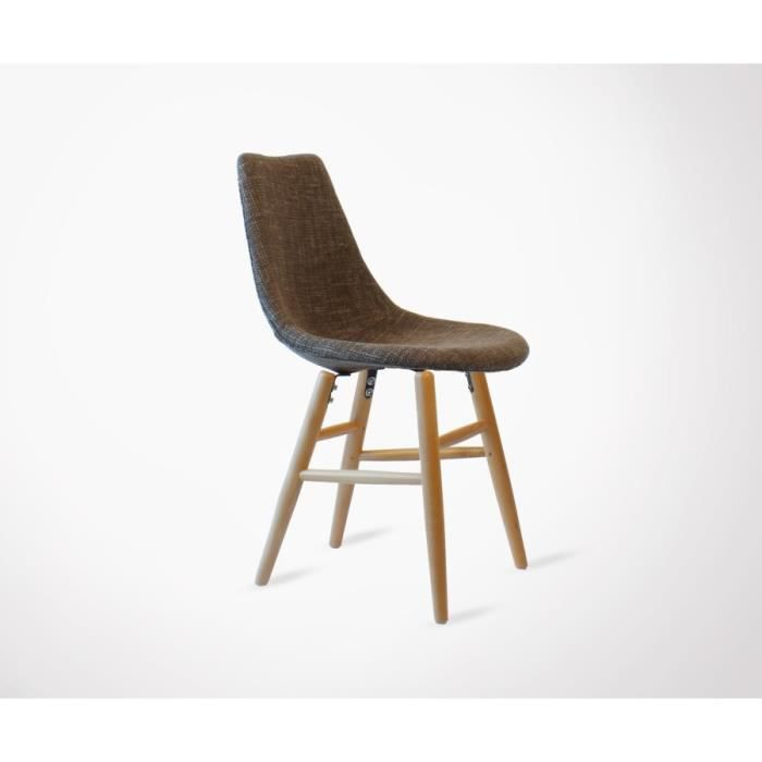 chaise design style annes 50 louisa rembourre - Chaise Annee 50