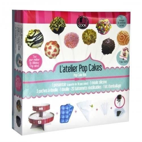 LOT USTENSILES LILY COOK Coffret Pop Cakes Complet