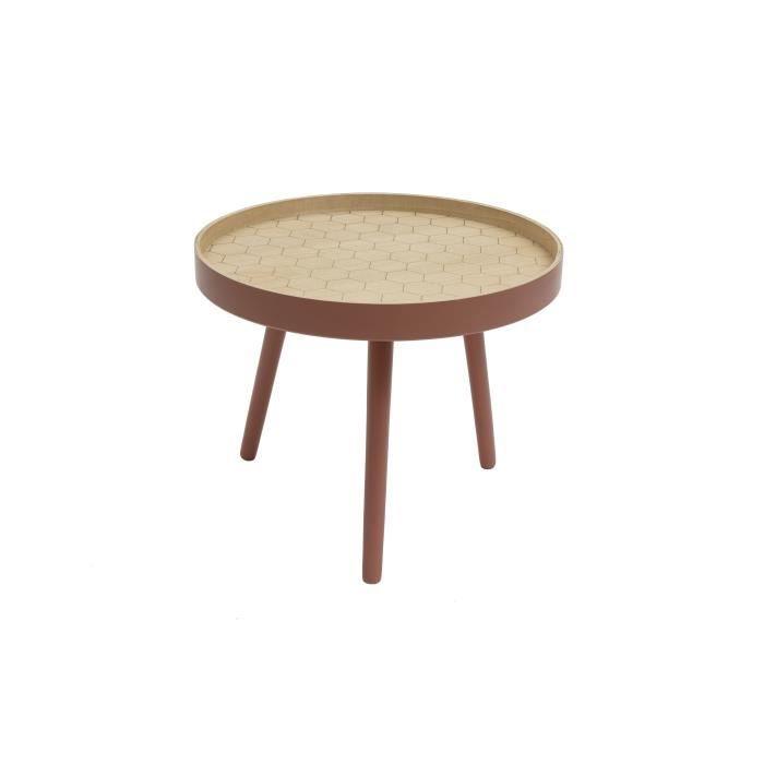 TABLE D'APPOINT By Demeyere « Harry » table basse pour salon impri