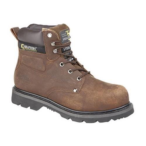 Grafters - Chaussures montantes de sécurité - Homme kCfH8ZE