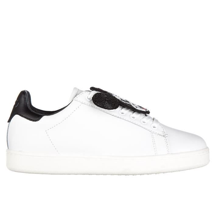 Chaussures baskets sneakers femme en cuir action Moa Master of Arts