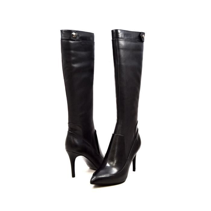 Collection Slim Tally en cuir Bottines compensées ZL5ZW Taille-42 GC5aIQkSB
