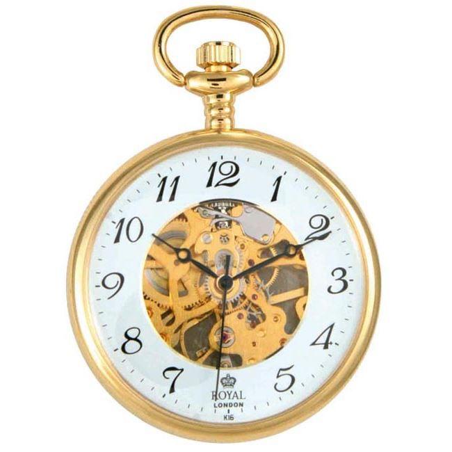 montre gousset royal london 90002 02 achat vente montre de gousset cdiscount. Black Bedroom Furniture Sets. Home Design Ideas