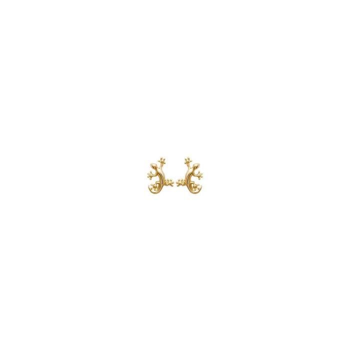 Isady - Miranda Gold - Boucles doreilles - Plaqué or jaune 18K - Clous doreilles