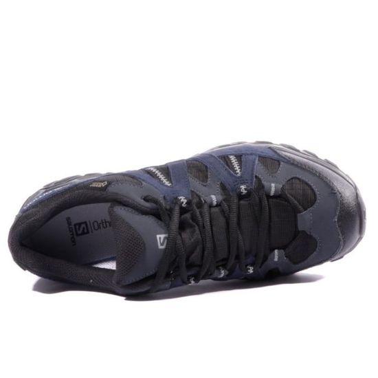 SALOMON Tsingy GTX Homme Chaussures Randonnée Noir Bleu