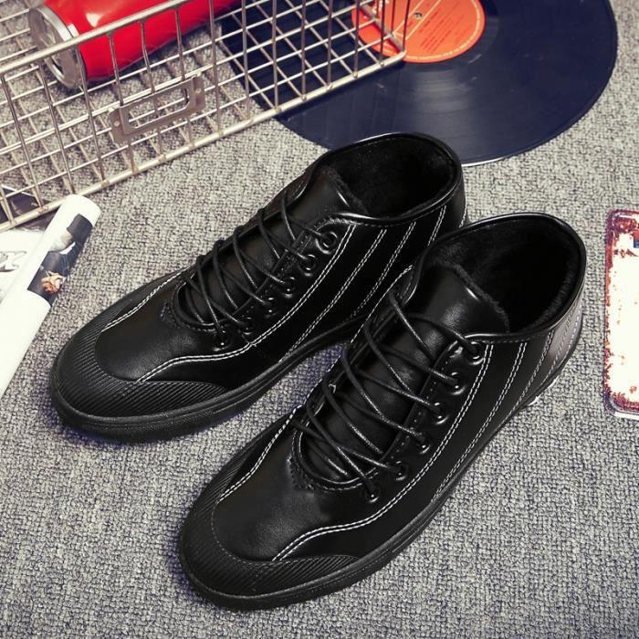 Skateshoes Homme Korean Fashion StyleSkater chaud noir taille42 VDoY5rny