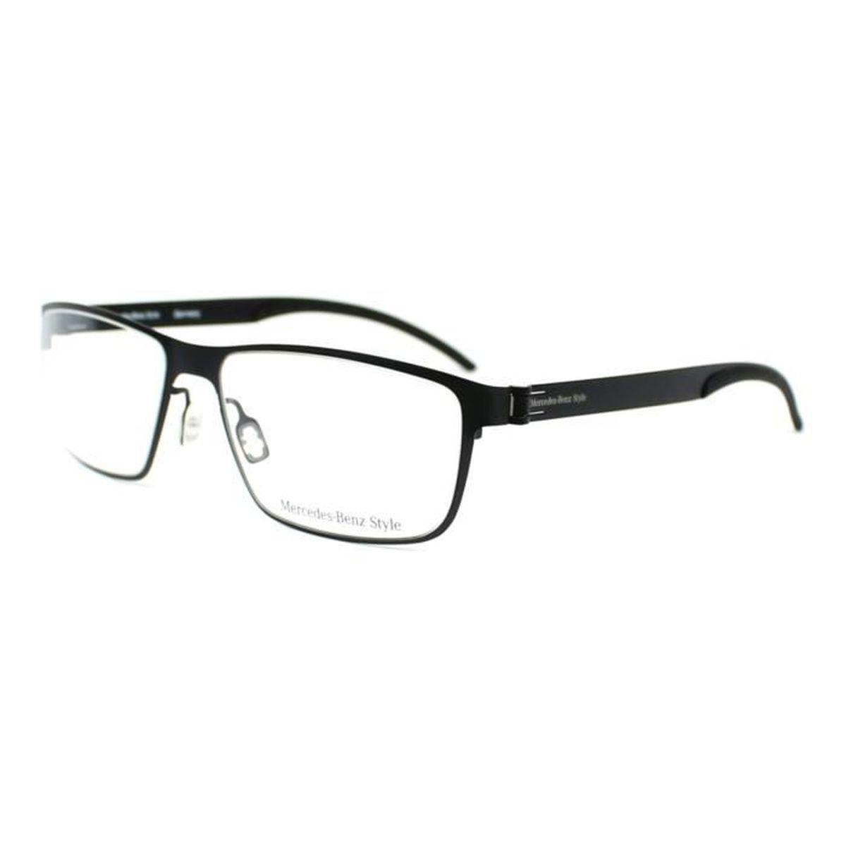 Lunettes de vue Mercedes M6044 -C Noir mat - Achat   Vente lunettes ... 95b812f5cea4