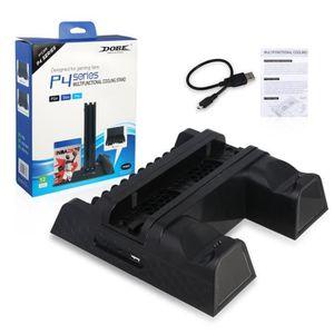 VENTILATEUR CONSOLE PS4 / PS4 Slim / PS4 Pro Refroidisseur Multifoncti