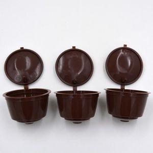 SET ACCESSOIRE CUISINE 4pcs réutilisable café Capsules Coupe Filtre pour