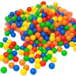 BALLES PISCINE À BALLES Balles colorées de piscine 200 Pièces- Diamètre: 5