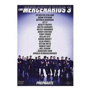 DVD FILM Expendables 3 (The Expendables 3, Importé d'Espagn
