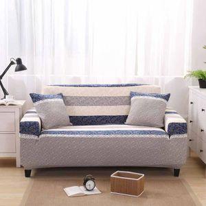 Housse de canape 2 places achat vente housse de canape 2 places pas cher cdiscount for Housse de sofa