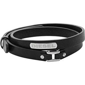 BRACELET - GOURMETTE Bracelet DIESEL Acier Cuir