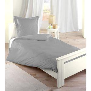 PARURE DE DRAP Parure de lit complète 3 pièces Perle 140x200cm