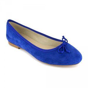 BALLERINE Ballerine Loca Lova Cuir Bleu LL225 - Couleur - Bl