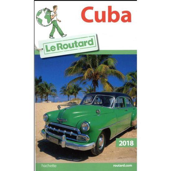 Carte Cuba Guide Du Routard.Livre Guide Du Routard Cuba Edition 2018