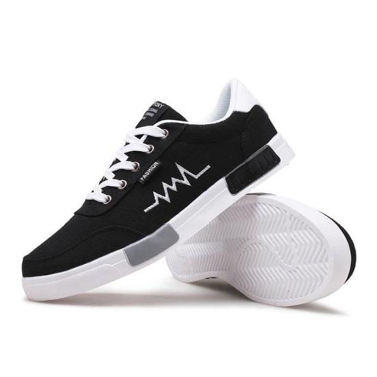Basket Homme Chaussure de sport Noir Noir Vente Noir - Achat / Vente Noir basket 35e1c4