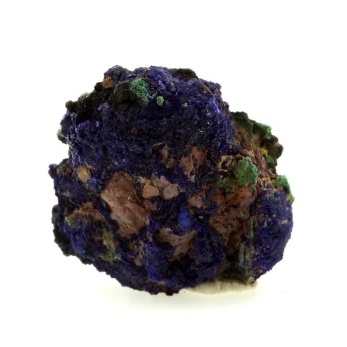 Pierre -Chessylite ( Azurite ). 57.11 ct. Chessy-les-Mines, Rhône, France. Rare