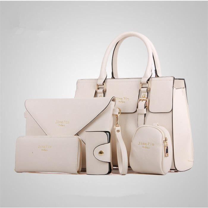 Marque femme qualité à En sac arrivee marque à main Luxe femme Nouvelle sac main ydb054 Femme De Cuir de Sac De blanc supérieure Rwx6qYx8