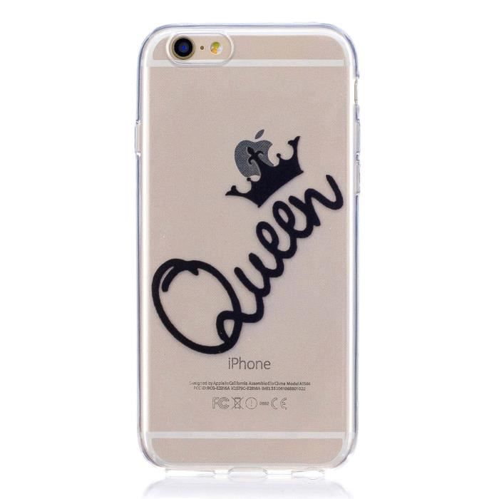 coque iphone 6 queen silicone